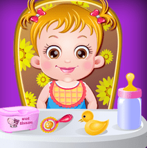 play Baby Hazel Funtime game